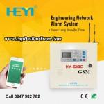 Tủ báo động Heyi HY-518C (GSM+GPRS), APP điện thoại IOS,Android (báo trộm)