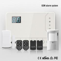 Tủ báo động dùng SIM AL-H5000GSM, hỗ trợ cảm biến báo trộm có dây và không dây