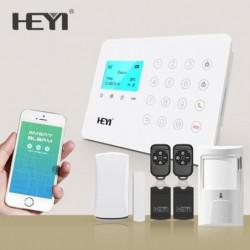 Tủ báo động Heyi HY-W7, APP điện thoại IOS,Android (báo trộm)