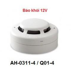 Cảm biến khói 4 dây Q01-4 nguồn 12V