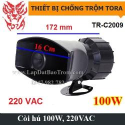 Còi hú công suất lớn 220V TORA TR-C2009 100W