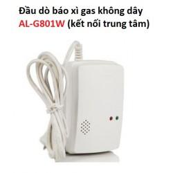 Đầu dò báo xì gas không dây AL-G801W (kết nối trung tâm)