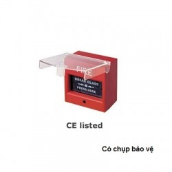 Nút nhấn khẩn cấp bể kính AH-0217 (chụp bảo vệ)