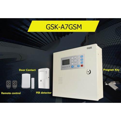Tủ báo động GSK-A7GSM, APP điện thoại IOS,Android (báo trộm), đại lý, phân phối,mua bán, lắp đặt giá rẻ