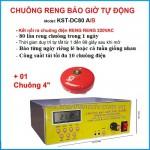 Bộ chuông reng báo giờ tự động 80 lần/ngày KST-DC80A/B