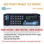 Bộ phát nhạc tự động KST-ATM16 kết hợp thông báo