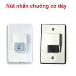 Nút nhấn chuông điện, chuông cửa có dây duton