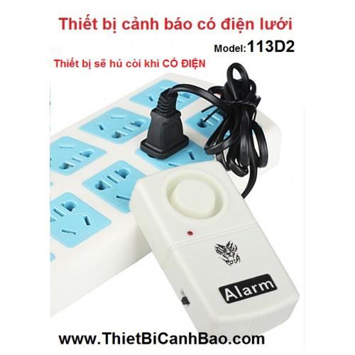 Thiết bị cảnh báo có điện, mất điện 113D2, đại lý, phân phối,mua bán, lắp đặt giá rẻ